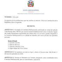 Decreto 572-20 emitido por el Presidente @LuisAbinader @PRM_Oficial