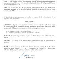 Decretos 553 y 554-20 emitidos por el Presidente @LuisAbinader @PRM_Oficial