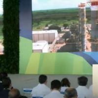 Inauguración de planta de gas natural CESPM-ENERGAS. San Pedro de Macorís.