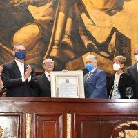 Acto de Reconocimiento al ExPresidente Ing. Agrónomo Rafael Hipólito Mejía Domínguez @PRM_Oficial por el @SenadoRD