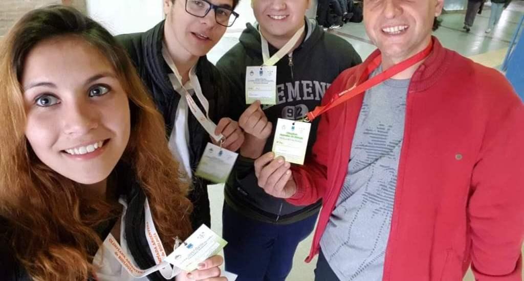 Chubut obtuvo las medallas de oro y bronce en las Olimpíadas Argentinas de Biología