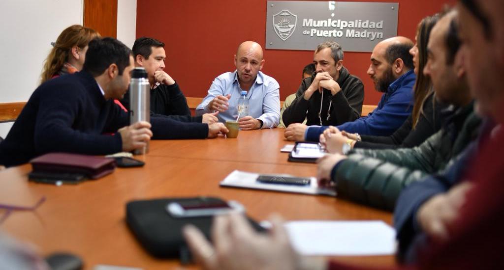 Ricardo Sastre recibió a integrantes del Consejo de Administración de la Cooperativa