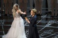Lady Gaga junto a Julie Andrews