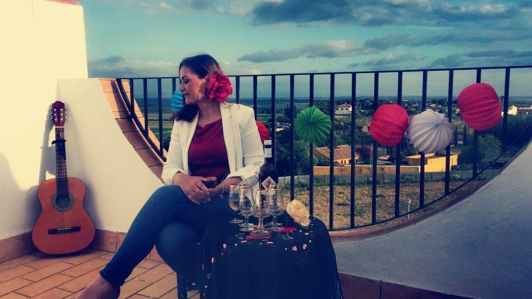 Mari Carmen Domínguez debía exaltar hoy la Feria de Abril 1