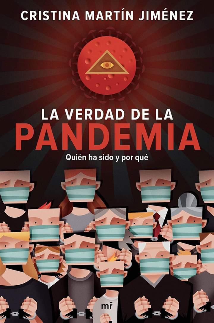 Cristina Martín escribe un libro sobre el coronavirus: 'La verdad de la pandemia'