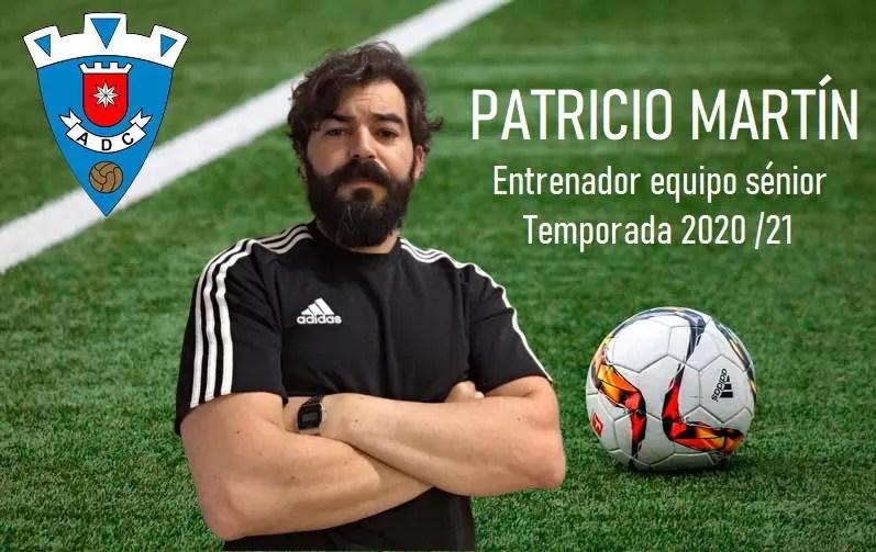 Patricio Martín, nuevo entrenador de la AD Carmona