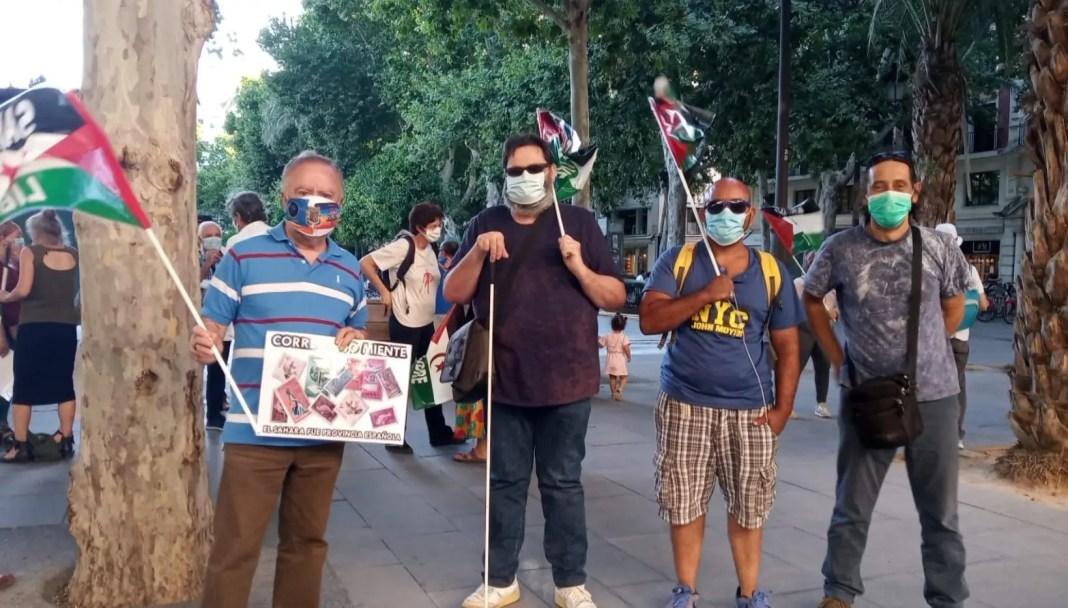 Alfarha se sumó a la protesta contra el rechazo de conceder la ciudadanía española a los saharauis nacidos antes de 1975