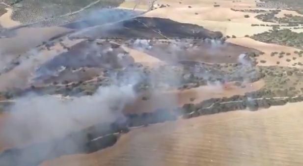 incendio baza granada