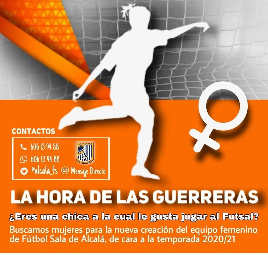 El Alcalá FS creará un equipo sénior femenino
