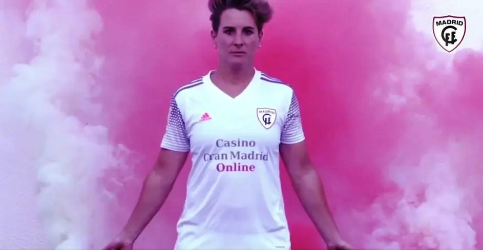 Presentada la alcalareña Priscila Borja como nueva jugadora del Madrid CFF