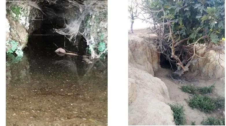Encuentran en El Viso dos minas de agua en la falda sur del puerto de La Alunada