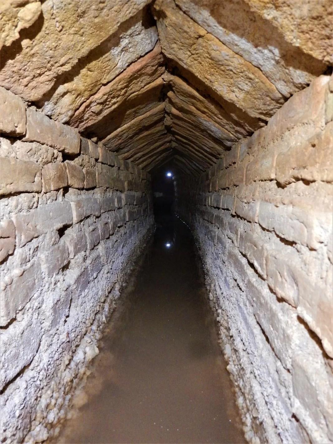 Localizan en Carmona una nueva mina de agua de origen romano 7