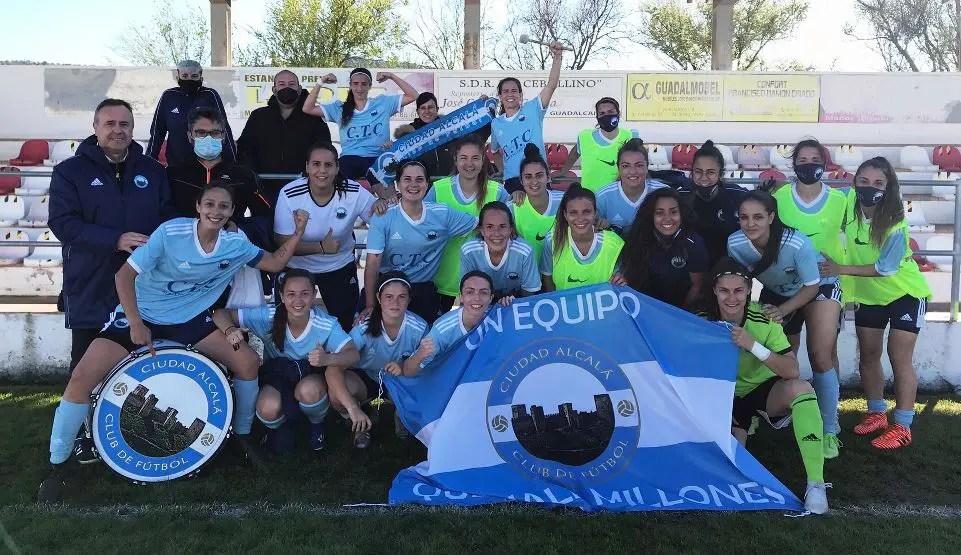 El Ciudad Alcalá se proclama campeón de liga