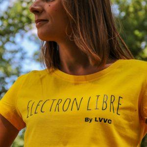 Tee-shirt «édition limitée» by LVVC – Electron libre