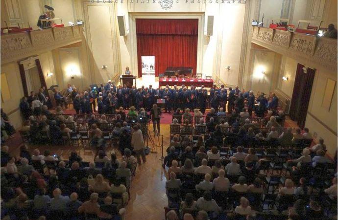 """Η Χορωδία Λαυρίου στον Φιλολογικό Σύλλογο """"Παρνασσός"""""""