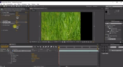 How to crop video edges in Adobe After Effect