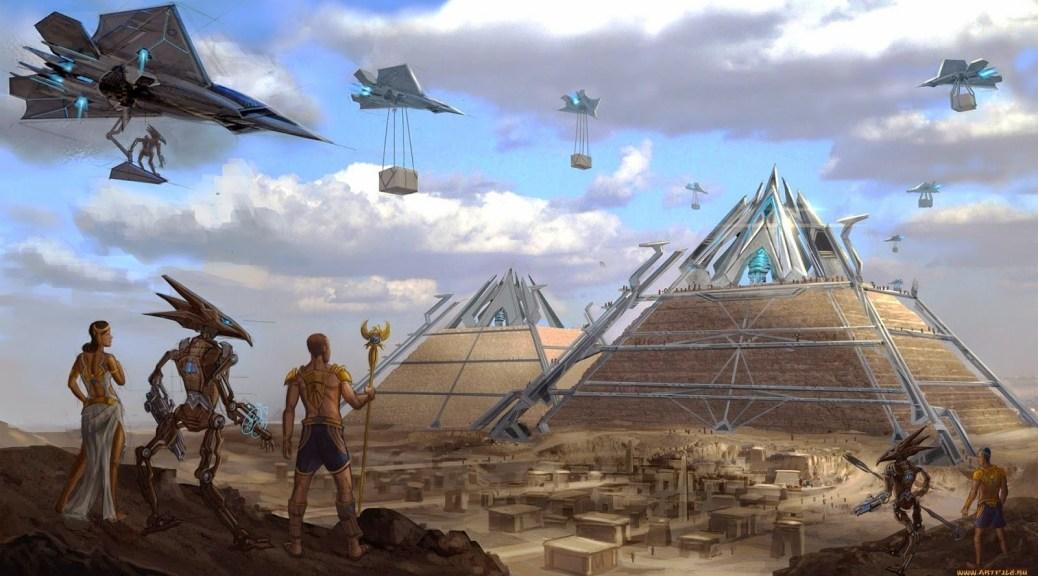Как построить пирамиду
