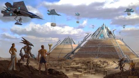 Python - build a pyramid