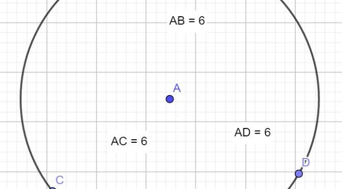 круг и окружность