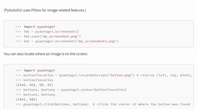 скриншот в Python