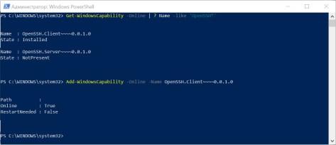 Windows PowerShell добавили компонент