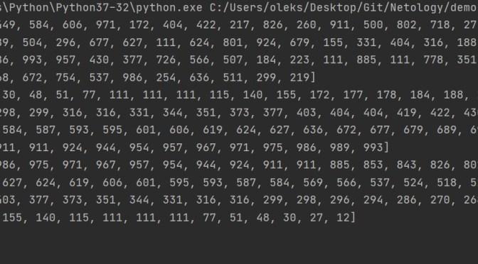 Python – sorting a list in ascending and descending order
