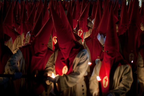 Penitents+Celebrate+Holy+Week+Zamora+Miercoles+7YpCj3hGoAAl