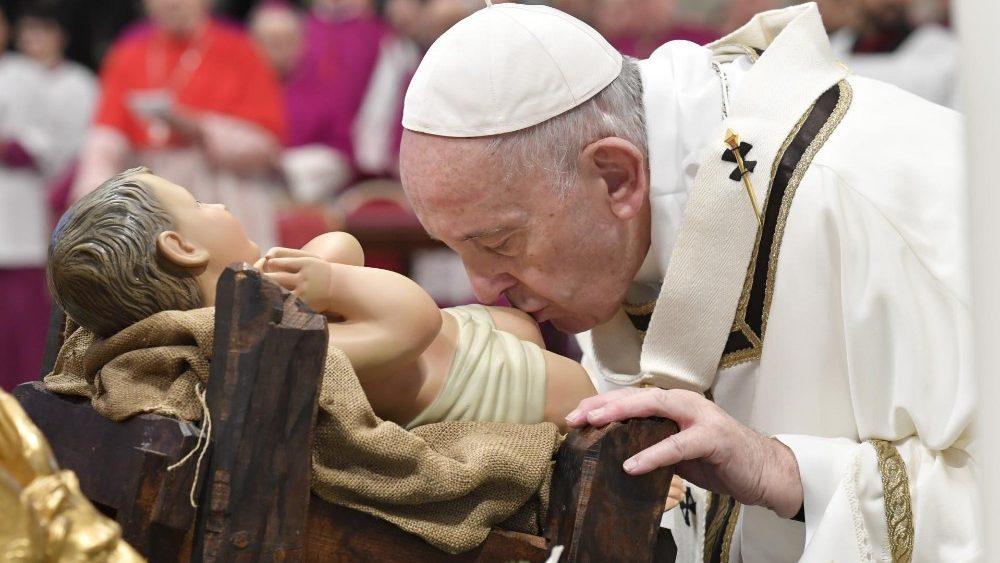 Papa Francisco en la Epifanía de 2020 | © VaticanNews