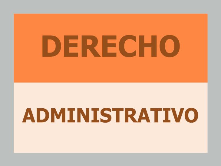 Libros derecho administrativo