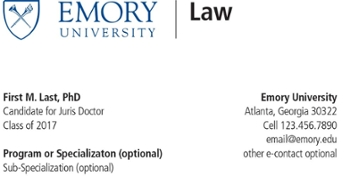 For Students  Emory University School of Law  Atlanta GA