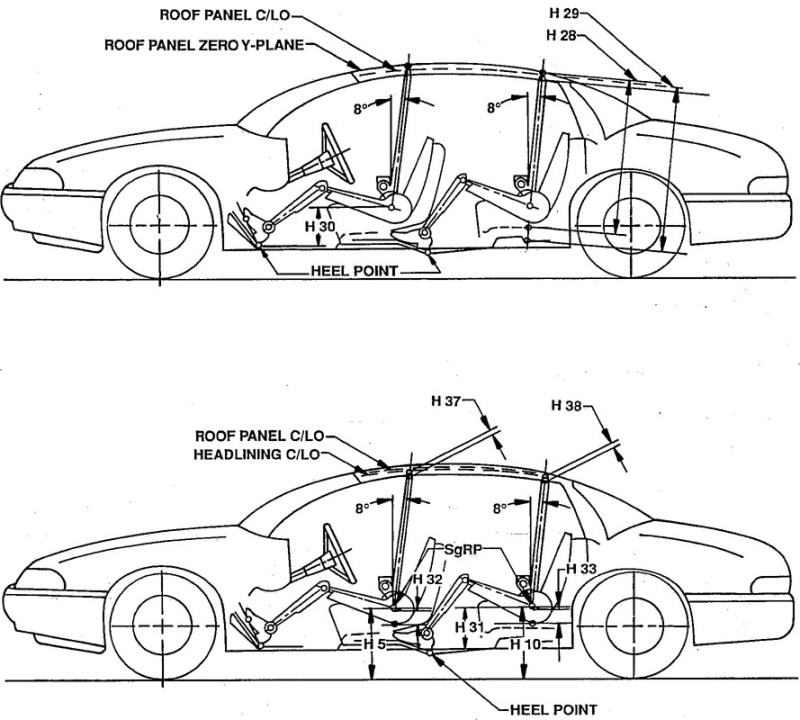cars interior dimensions