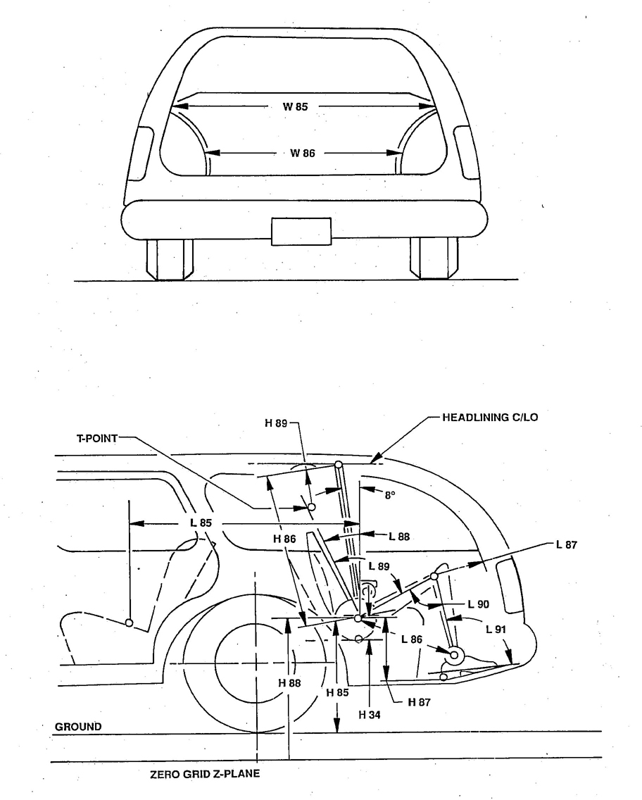 hight resolution of figure 14 interior dimensions station wagon third seat