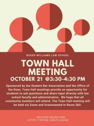 SBA Town Hall Meeting RWU Law