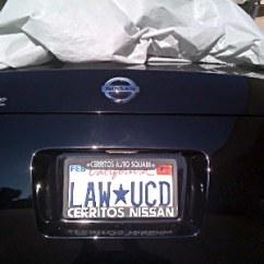 Third Brake Light Law 91 Toyota Pickup Radio Wiring Diagram Uc Davis School Of Profiles Nancy Wieben Stock License Plate