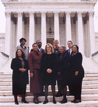 Sworn in Group at Supreme Court