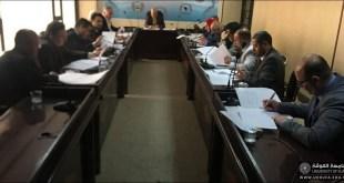 اجتماع اللجنة الوزارية الخاصة بدراسة بناء السلام والصراع