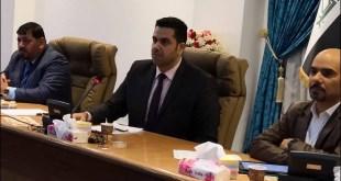 ترأس الاستاذ المساعد الدكتور علاء السيلاوي اجتماع فريق الاستجابة السريعة