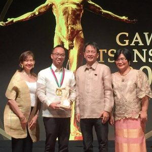 UP Law Student Awarded Gawad Tsanselor 2018