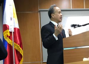ICC Judge Raul C. Pangalangan Holds a Lecture at UP BGC