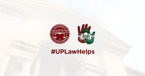 Dean Fides Cordero-Tan: UP Law Helps Online Legal Assistance Goes Live Monday, 20 April