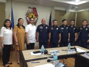 PNP renews a Memorandum of Agreement with UP College of Law on legal education and training for police.