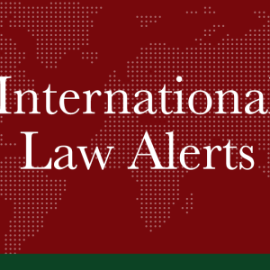 JANUARY 2021 | International Law Alerts | Cryptocurrency / E-Commerce