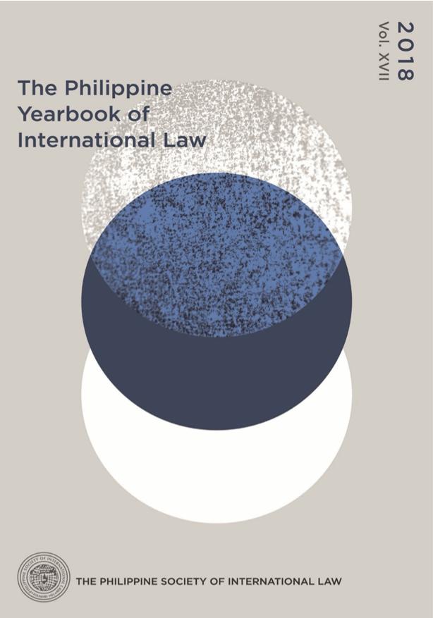 Philippine Yearbook of International Law Vol. 17 (2018)