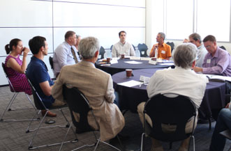 Environmental Dispute Resolution Program's Dialogue on Collaboration on June 15, 2016 at the S.J. Quinney College of Law.