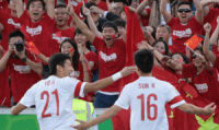 china soccer fans