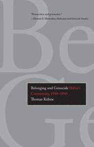 Belonging and Genocide