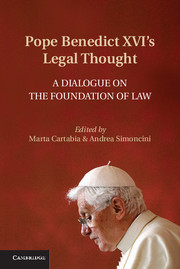 Pope Benedict XVI's legal Thought