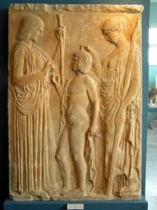 Demeter, Triptolemus, Persephone