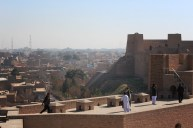 The Citadel, also known as Qala Iktayaruddin, dates back to the days of Alexander the Great.