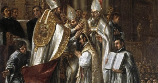 consecration of st ambrose as archbishop (1)